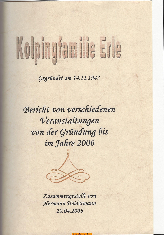 Titelbild der Berichtesammlung von Hermann Heidermann