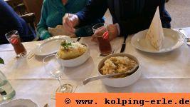 Sauerkraut und Püree