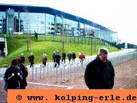 Auf dem Aussengelaende des FC Schalke