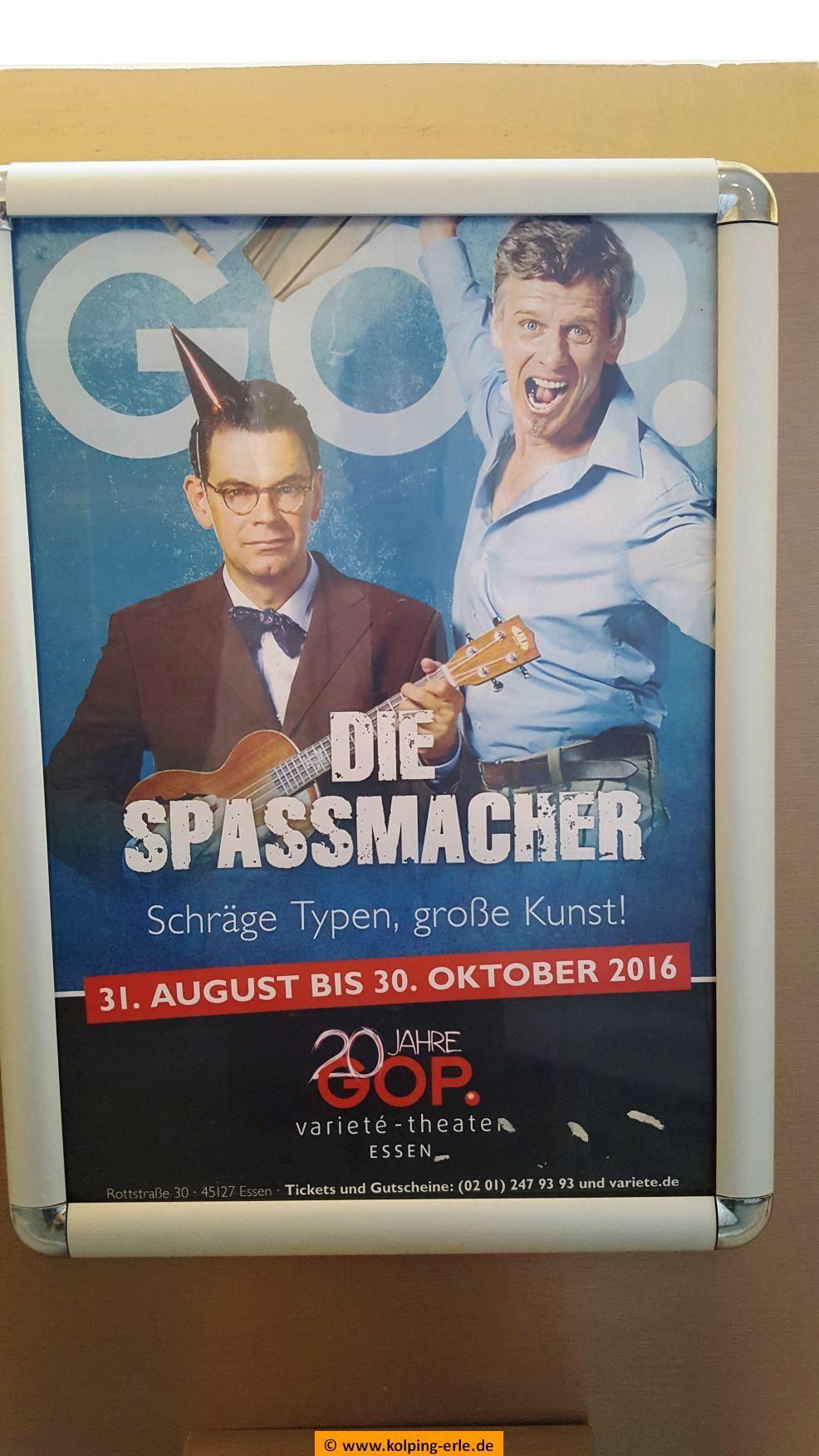 Das Plakat zur Show