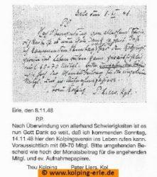 Originalschriften von Pater Liers