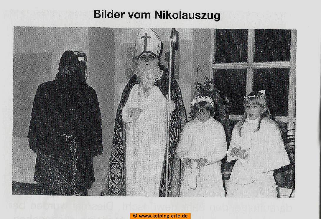 Nikolaus, Knecht Ruprecht und zwei Engel