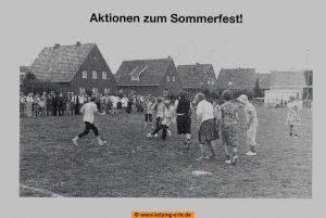 Sommerfest-Aktionen