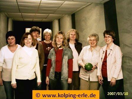 Kolpingsfamilie-Erle, Frauenmannschaft