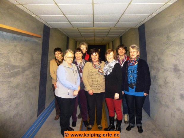 Das Bild zeigt die Damenmannschaft von 2014 der Kolpingsfrauen der KF Erle