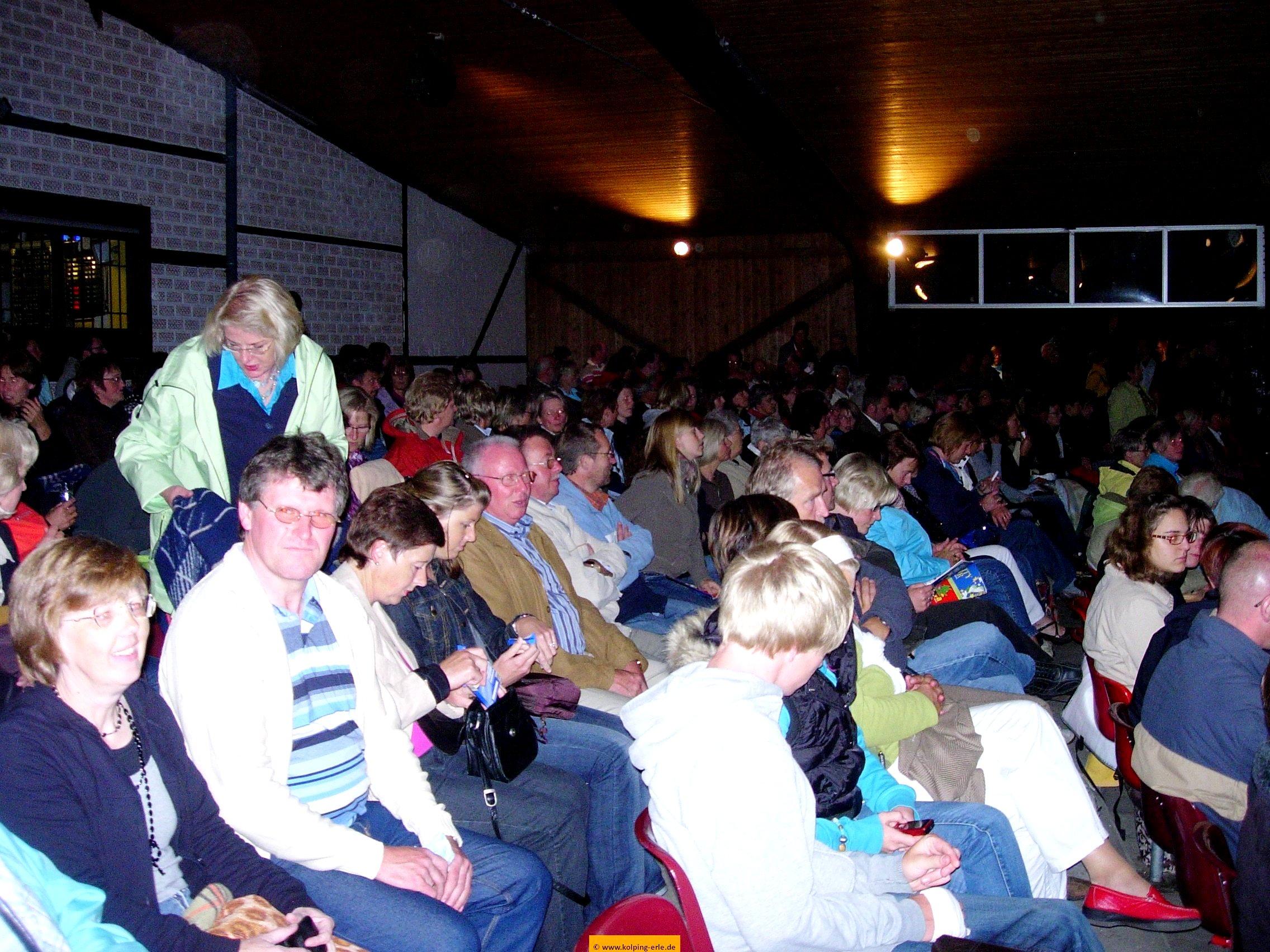 Begeisterte Zuschauer beim Musical in Coesfeld