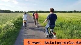 Radtour durch Natur